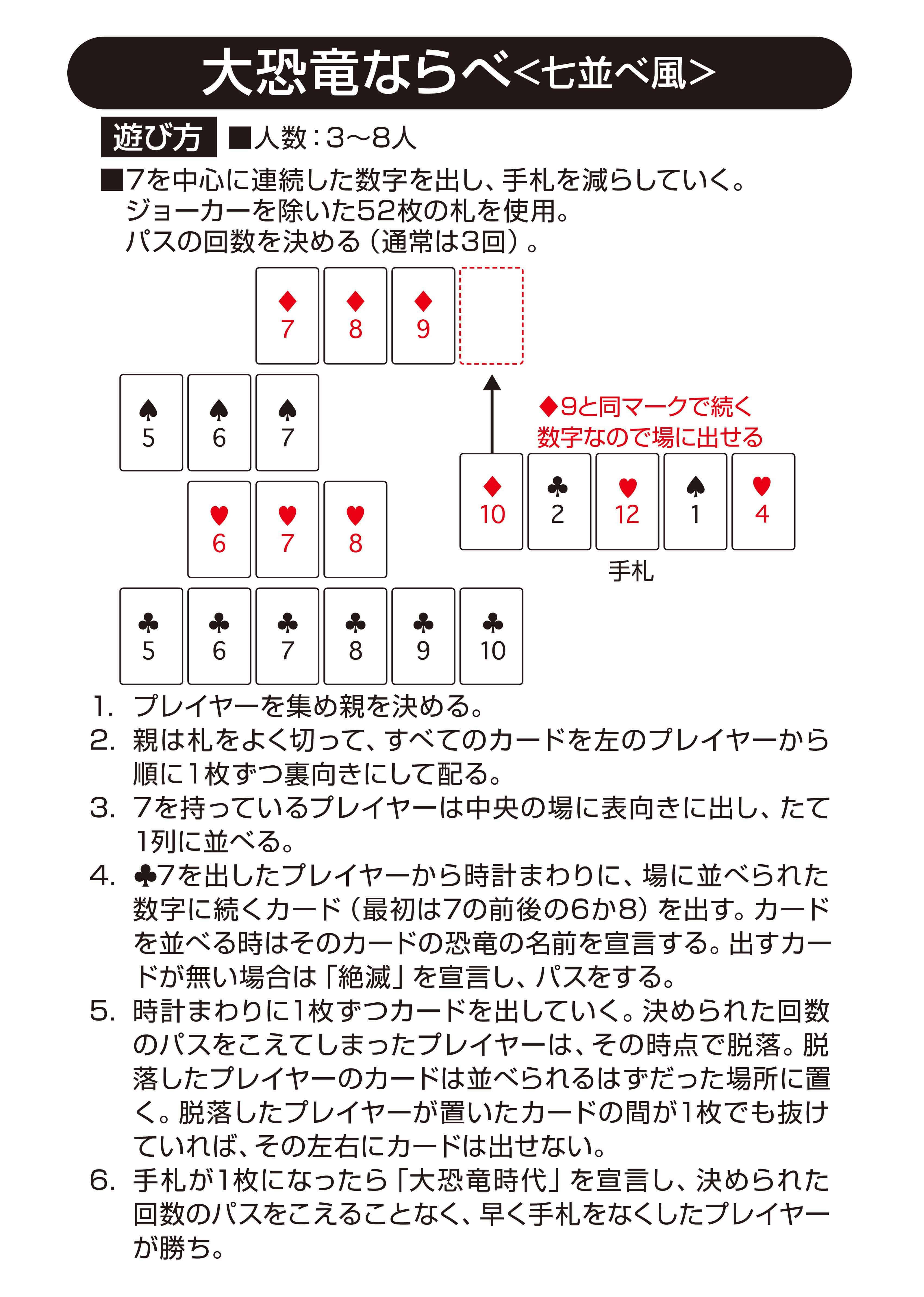 並べ ルール 7