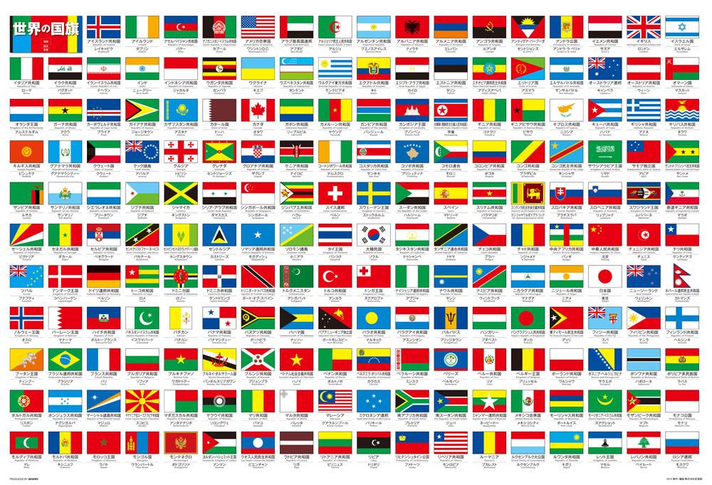 株式会社ビバリー / 世界の国旗 : 国旗 数 : すべての講義