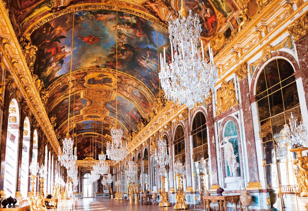フランスのヴェルサイユ宮殿 その2