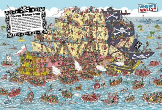 Where's Wally? 海賊船パニック